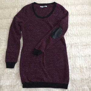 Pretty purple Maurice's Sz M long sweater/dress